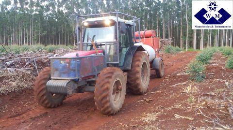 Treinamento: Operador mantenedor do trator de pneus.