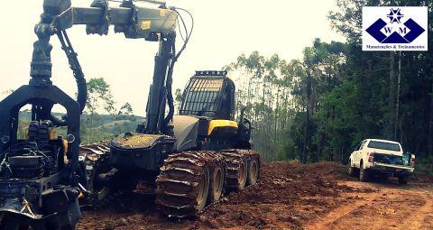 Avaliação dos equipamentos florestais para análise da vida útil dos cilindros hidráulicos.